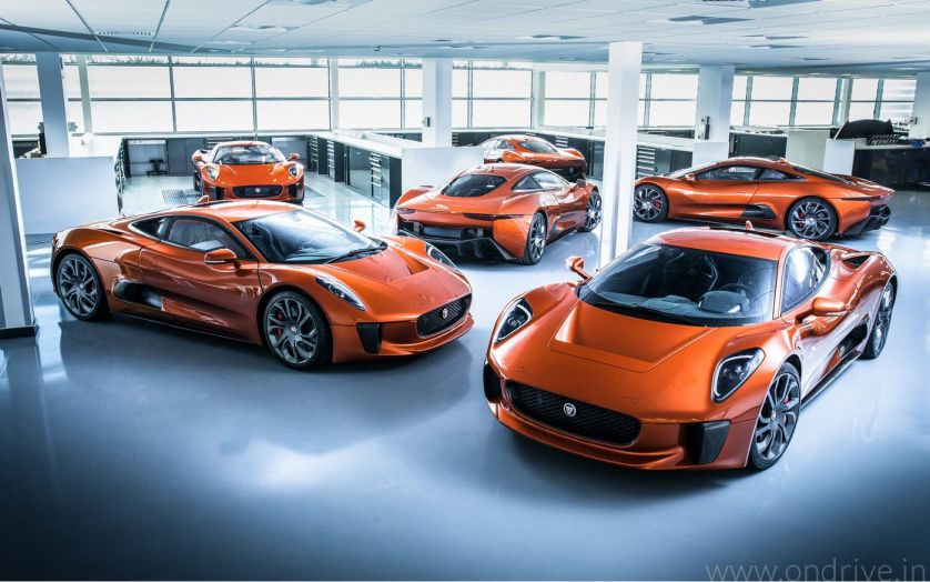 Jaguar Land Rover Bond Cars