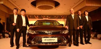 All new Toyota Camry 2015
