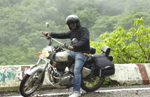Me and my Royal Enfield Classic 350!