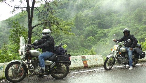 Riding in Fog, Mist and Clouds are Dangerous Fun
