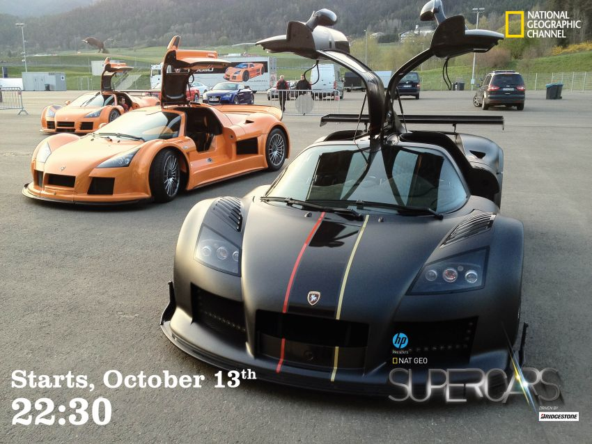 National Geographic Supercars 2014