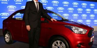 Ford Figo Aspire India Launch