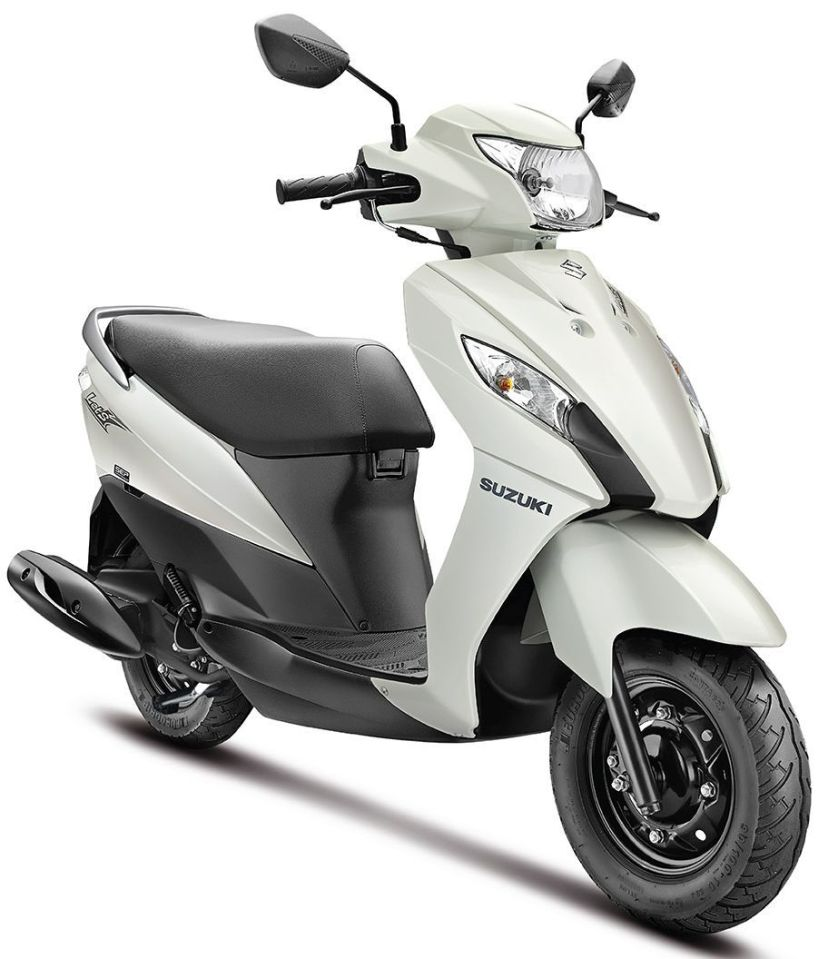 SUZUKI LET'S IN TRENDY NEW DUAL-TONE COLOURS WHITE