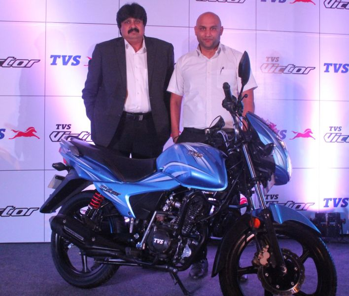 The all new TVS Victor