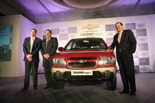 Chevrolet Tavera Neo 3 Launched In India For Rs 751 Lakh