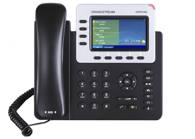 Business VoIP GX92140 Enterprise IP Phone