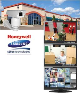 High resolution commercial and industrial camera system with day and night vision