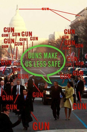 guns make us less safe