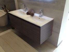 Doppelwaschtisch mit Unterschrank   .one bath