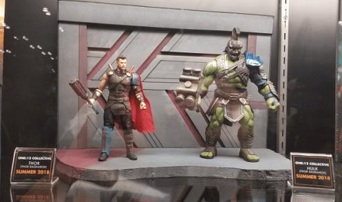 Mezco ONE:12 at NYCC - Thor and Hulk