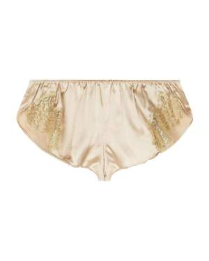 Gina French Lace Tap Pant Gilda&Pearl Glistening Gold