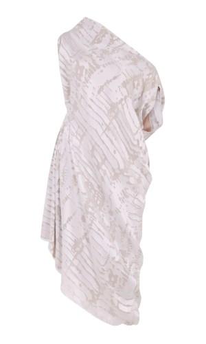 RionaTreacy Devoré Rhombus Dress