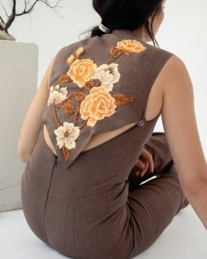 Driving South Jumpsuit by Marli