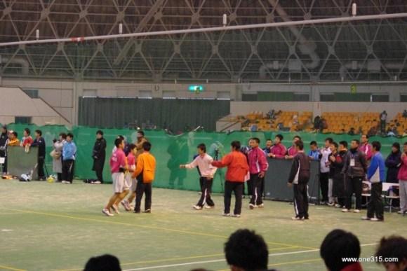 高校ソフトテニス 近畿インドア2013個人戦