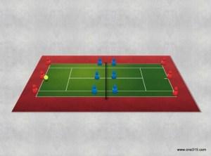 ソフトテニス練習会 2015.09.26