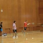 ソフトテニス練習会 2015.09.29 火曜日