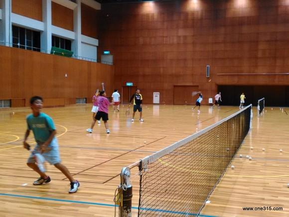 ソフトテニス練習会