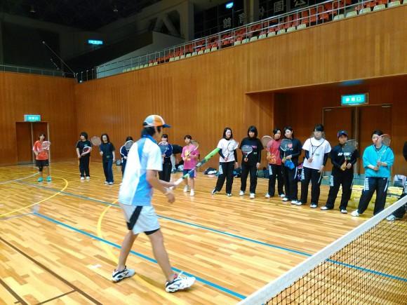 ソフトテニス練習会・エナミ塾3