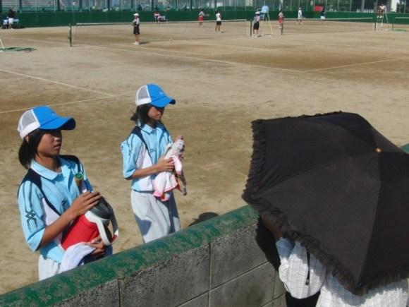 滋賀県中体連ソフトテニス・新人戦県大会2010