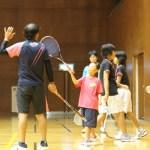 ソフトテニス練習会 土曜日 2015.10.10