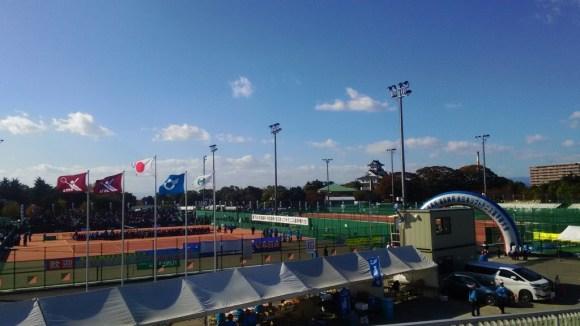 全日本ソフトテニス選手権大会天皇杯皇后杯2015@滋賀 大会最終日