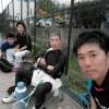 ソフトテニス練習会 2017/04/05(水)大阪と兵庫から来てくださいました。