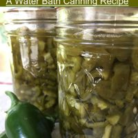 Pickled Jalapeno Peppers: A Water Bath Canning Recipe