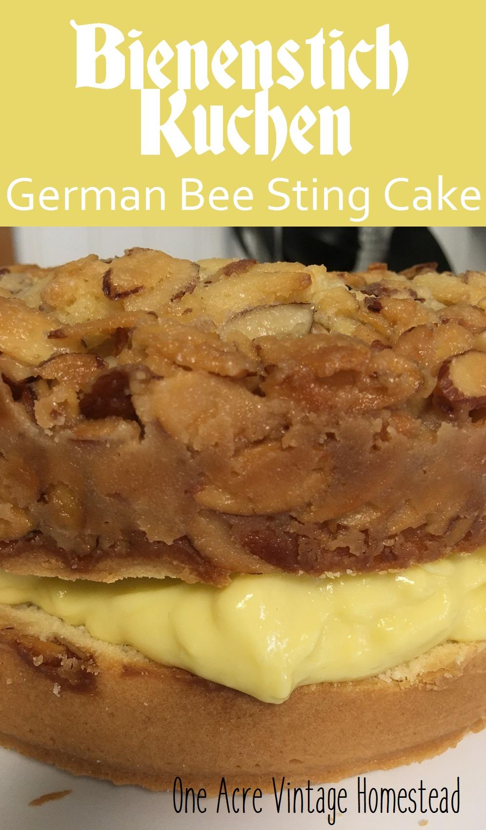 Easy German Bee Sting Cake Recipe