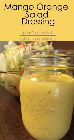 mango orange salad dressing
