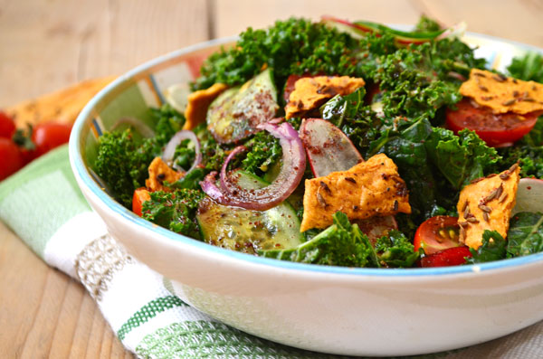 marinated-kale-fattoush-4