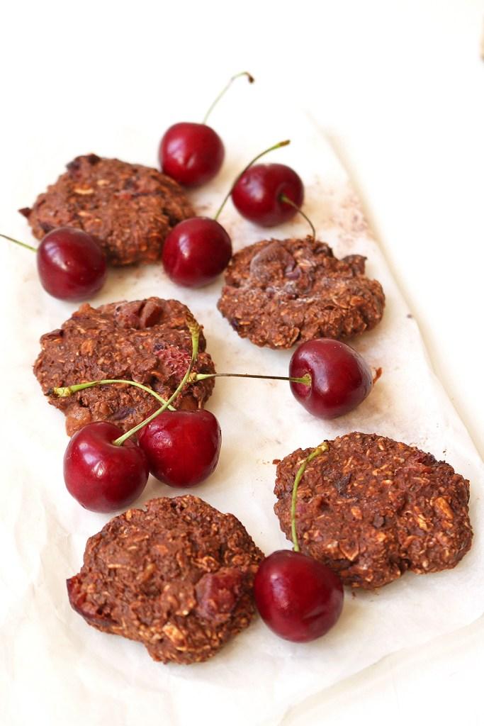 vegan-chocolate-cherry-no-bake-cookies-11