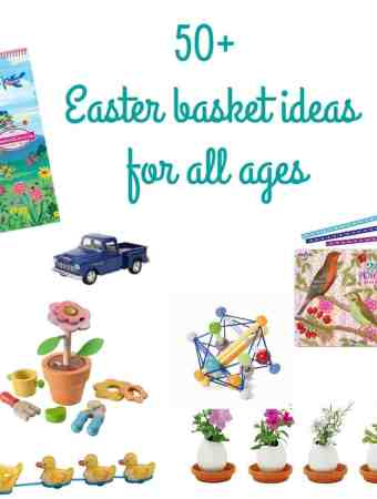 BASKET IDEAS FOR THE EASTER BUNNY