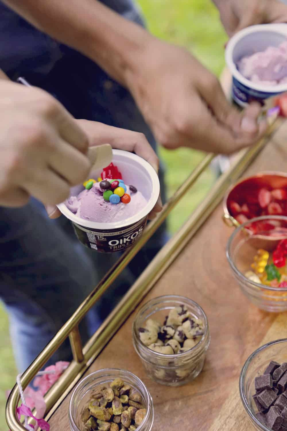 #ad frozen yogurt froyo party fro yo