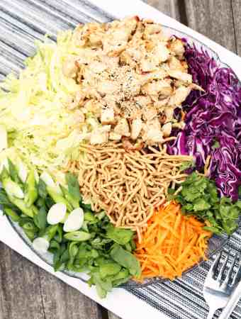 Easy Make Ahead Sesame Chicken Salad
