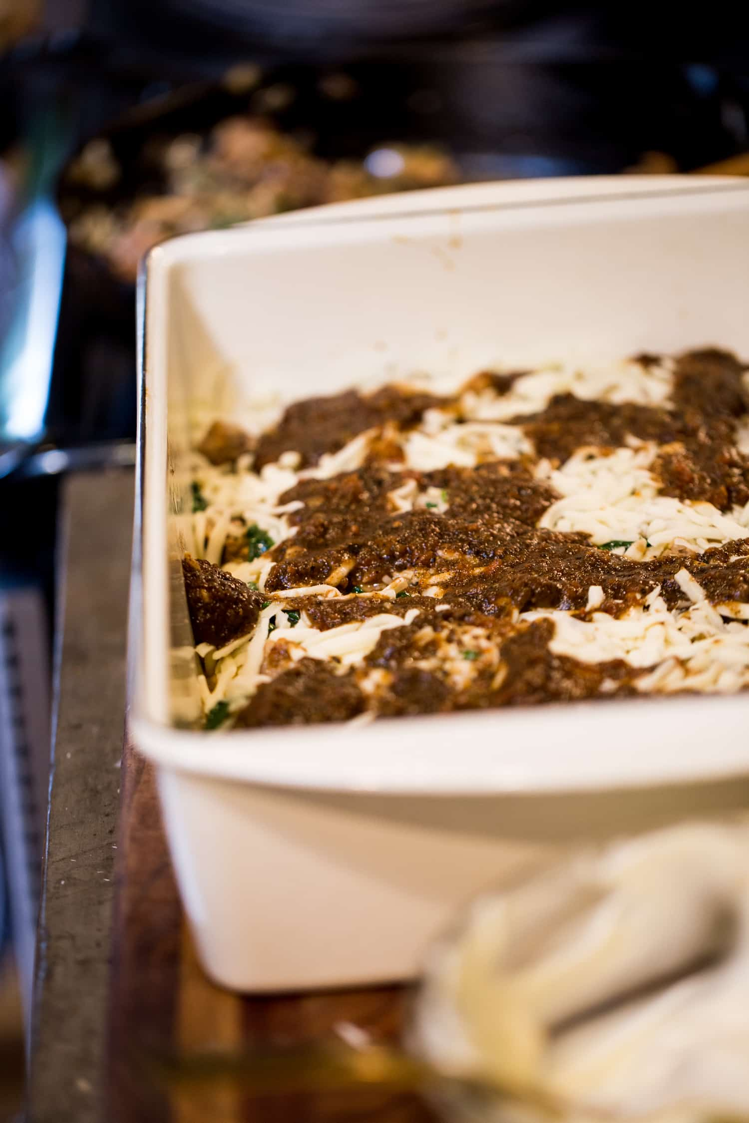 Garden Fresh Lasagna · ONE armed MAMA