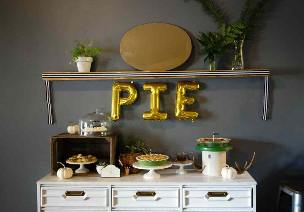 Fall Wine and Pie Party #TurkeyDayTips #CollectiveBias #ad