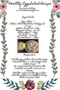 Healthy egg salad recipe printable