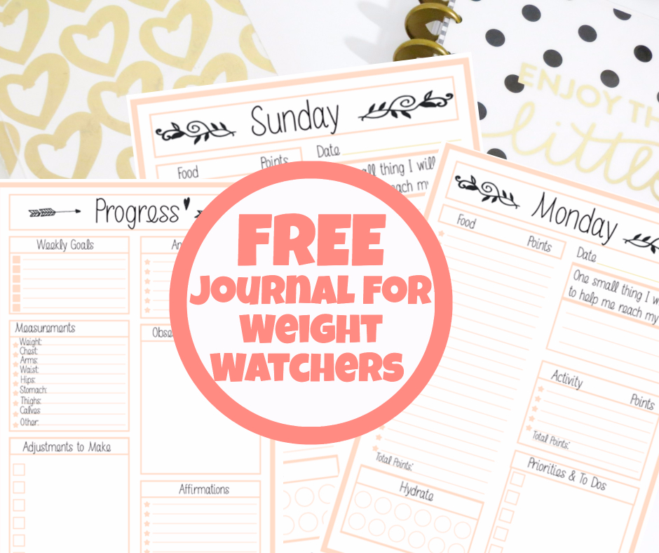 photo regarding Weight Watcher Point Tracker Printable titled Free of charge Body weight Watchers Tracker - Printable Magazine For Pounds