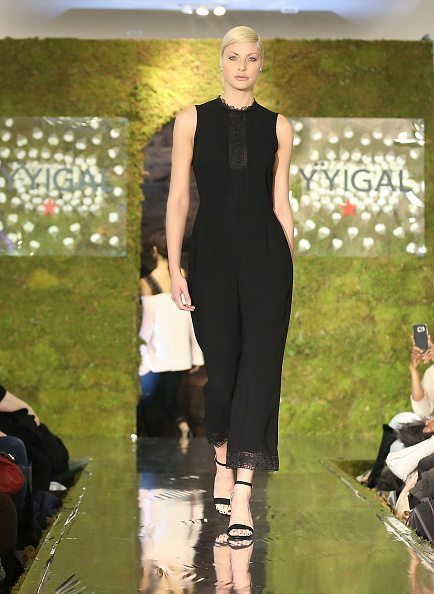 Yigal Azouel Fashion show models blowout styling by one blow dry bar