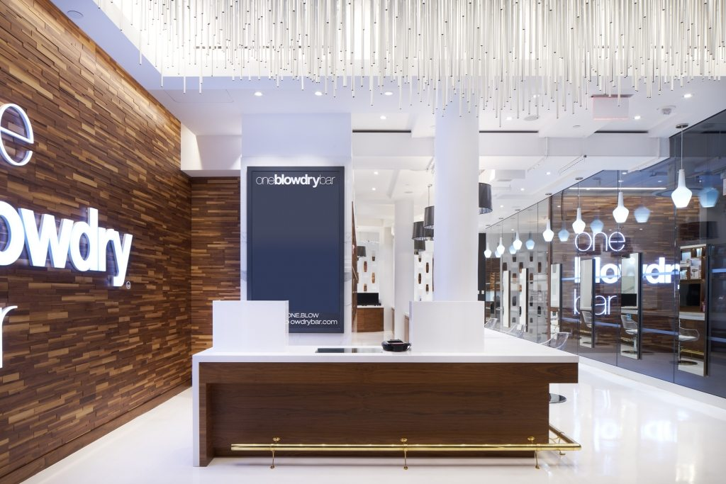 Macys Herald Square Blow Dry Bar, oneblowdrybar on Macy's One Below