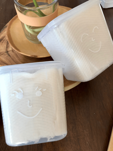 DIY Baby Wipes Step 4