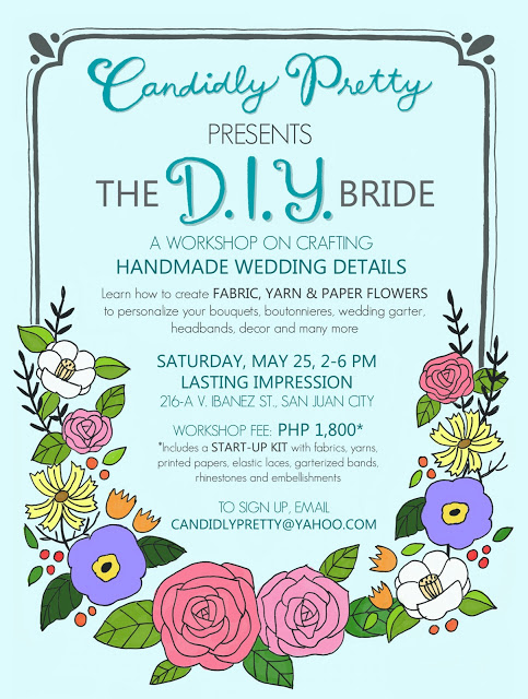 DIY Bride Workshop Poster