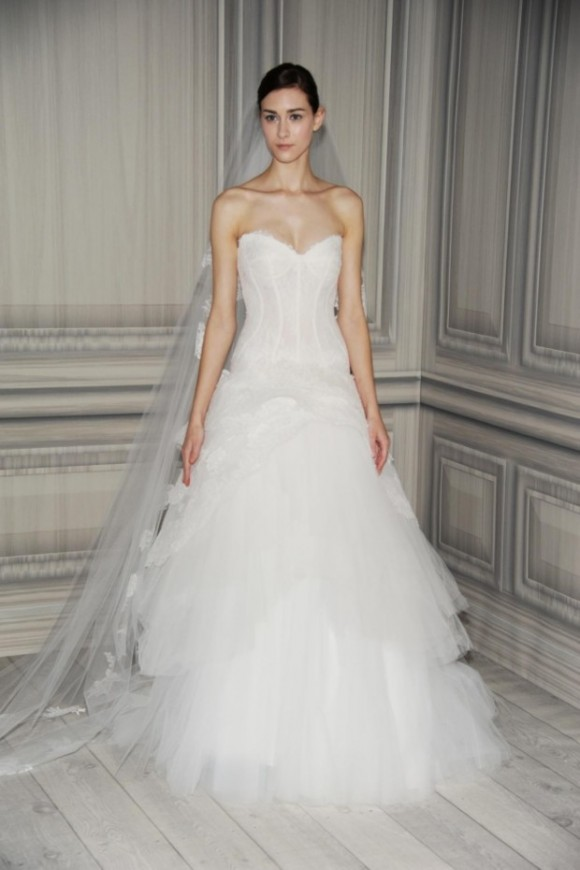 Monique Lhuillier 2012 Bridal Collection