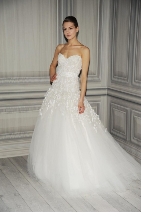 Monique Lhuillier Bridal Gown 2012