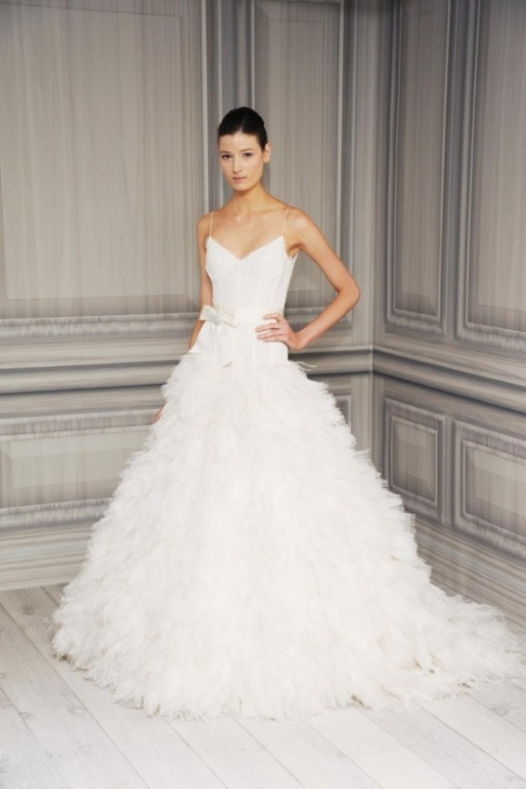 Monique Lhuillier Bridal Collection 2012 Spring Summer
