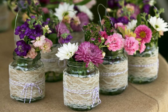 burlap-lace-mason-jar-wedding-decor-centerpieces