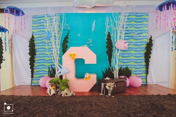 Under The Sea stage backdrop