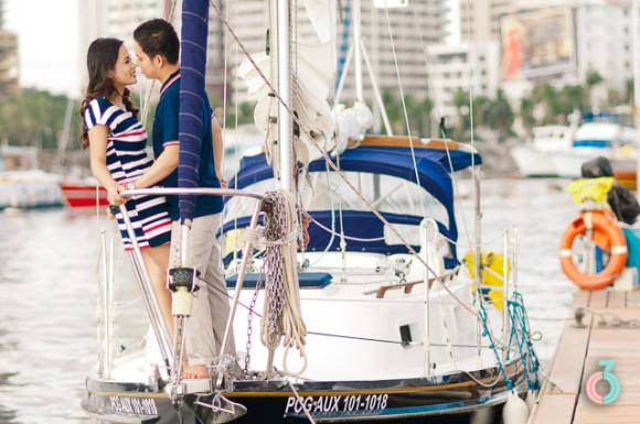 Nautical Inspired Engagement Session