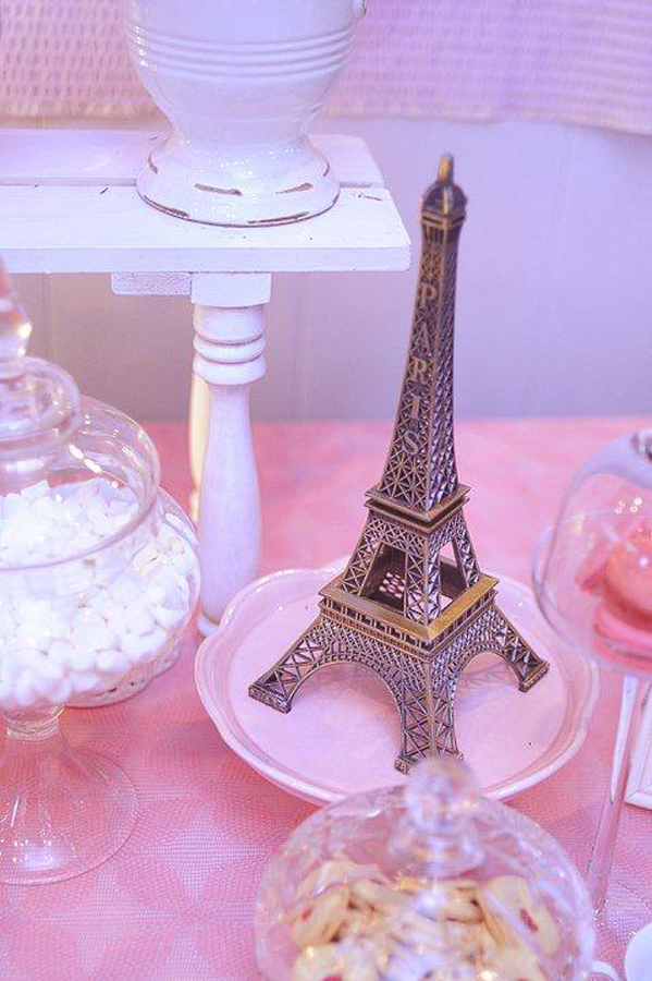 Paris Themed Party Eiffel Tower
