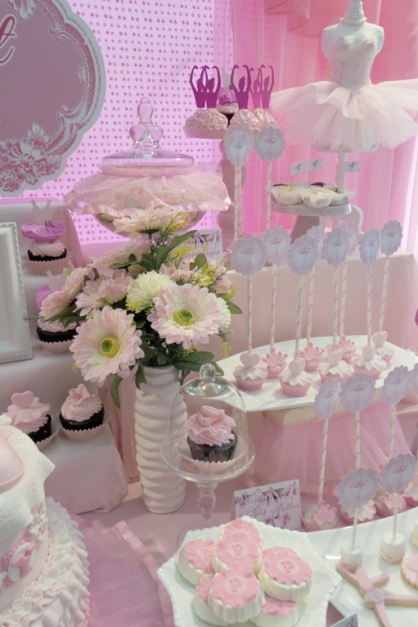 Ballerina Dessert Table - 02